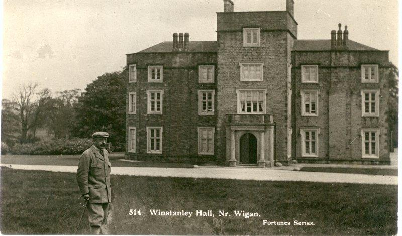 Winstanley Hall.