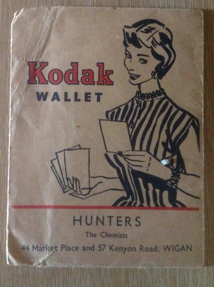 Kodak wallet from Hunters Chemist