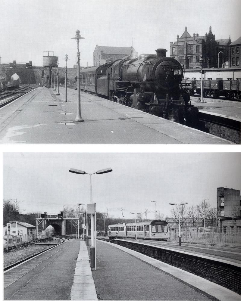 Two Views of Wallgate Station