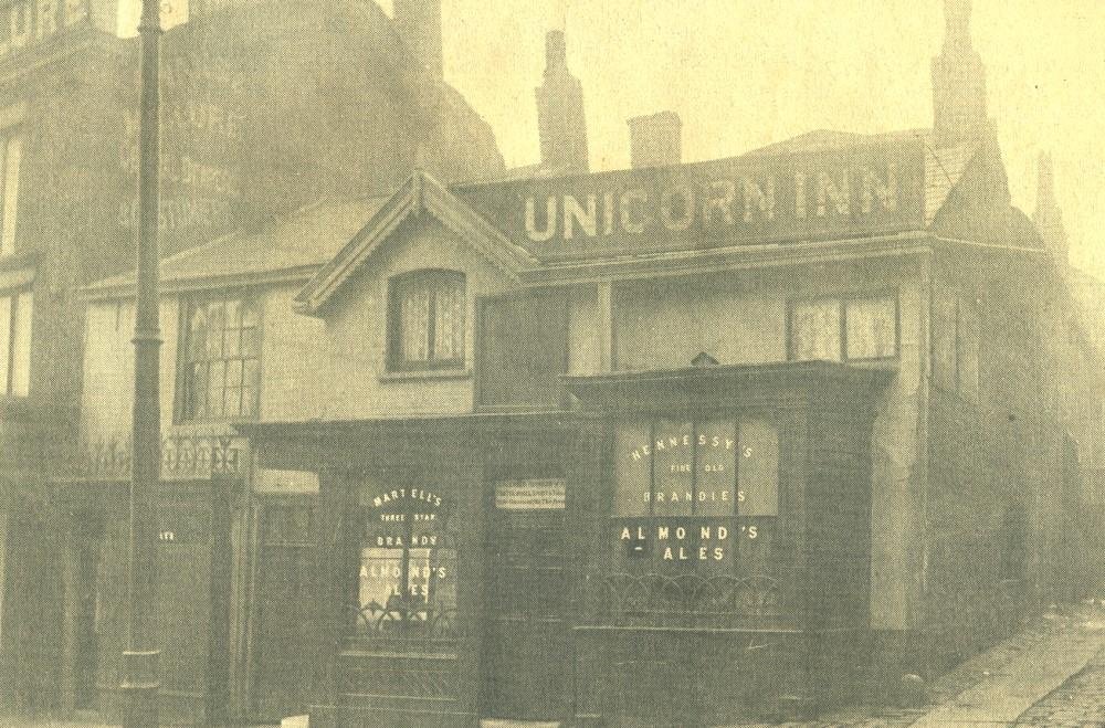 UNICORN INN. Standishgate