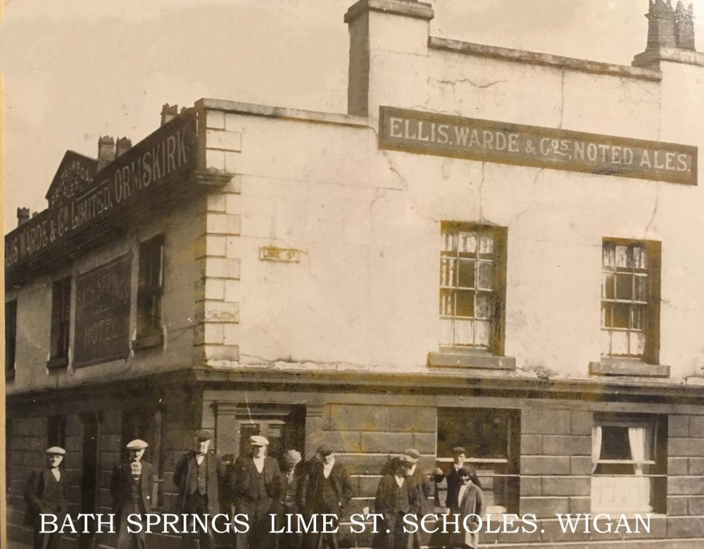 BATH SPRINGS, LIME ST. SCHOLES 1920's