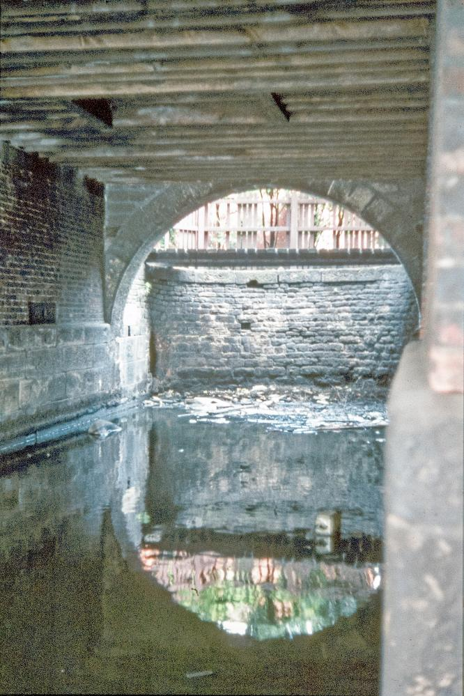 Canal at Wigan Pier