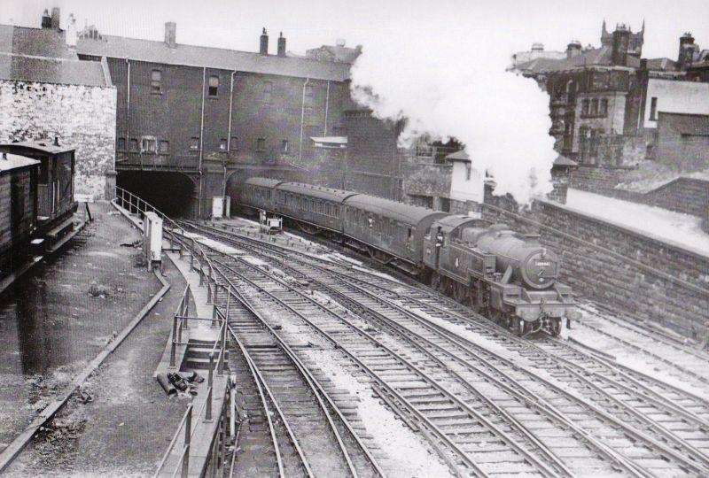 Wigan Wallgate Station 1960