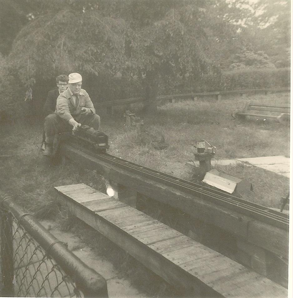 05-09-1965- Haigh Hall miniature  railway.