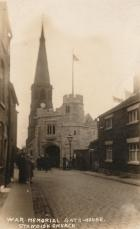 St Wilfrid's Peace Gate from Church Street, 1926