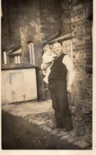 Me and Dad Albert Hilton 1953