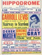POSTER 1954 CARROLL LEVIS. YOUTH SHOW