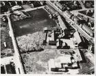 aeriel view of  Ince showing St. Williams' Church and School 1972