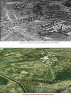 Kirkless Colliery & iron works.         Then   &    Now