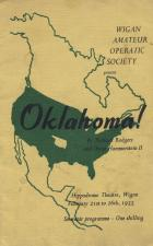 OKLAHOMA Programme Front Cover 1955