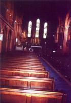 Interior of St Mary's.