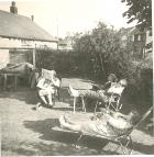 The heat wave of 1963 in Standish.(28th July)