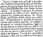 News article, April 1800.