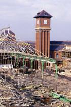Construction of the Galleries in Wigan.