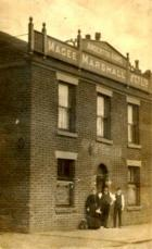 Anderton Arms, Ince Green Lane, early 1900's.