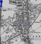 Goose Green crossing map 1908