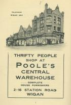 POOLE'S CENTRAL WAREHOUSE 1934