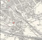 Warrington Lane Map 1907