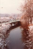 Coppull Lane Bridge, December 1981