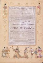 THE MIKADO 1899