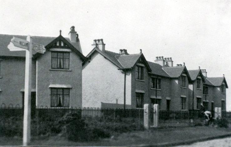 Model cottages, Pepper Lane. 1914.