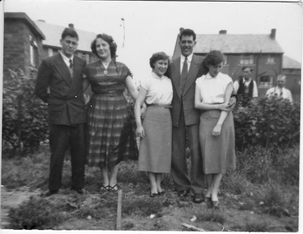 Popular Ave North Ashton  June 1954