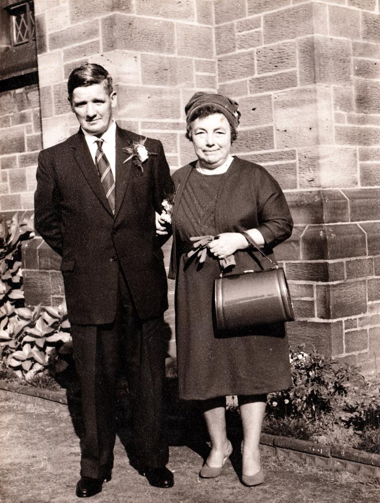 My mam and Dad