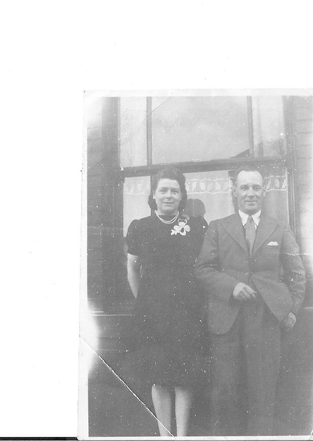 Grandma and Grandad, Florence and Jack Critchley in the 1930s