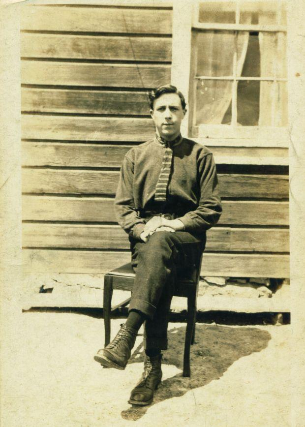 Bert Stringfellow - Margaret senior's brother - taken in New Zealand.