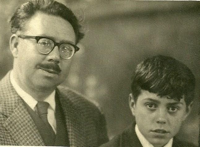Arthur Rigby and son Neil