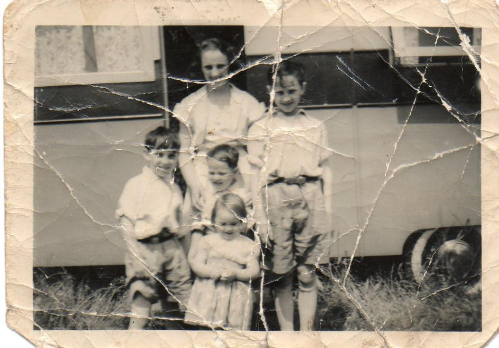 Togher children about 1958-59.