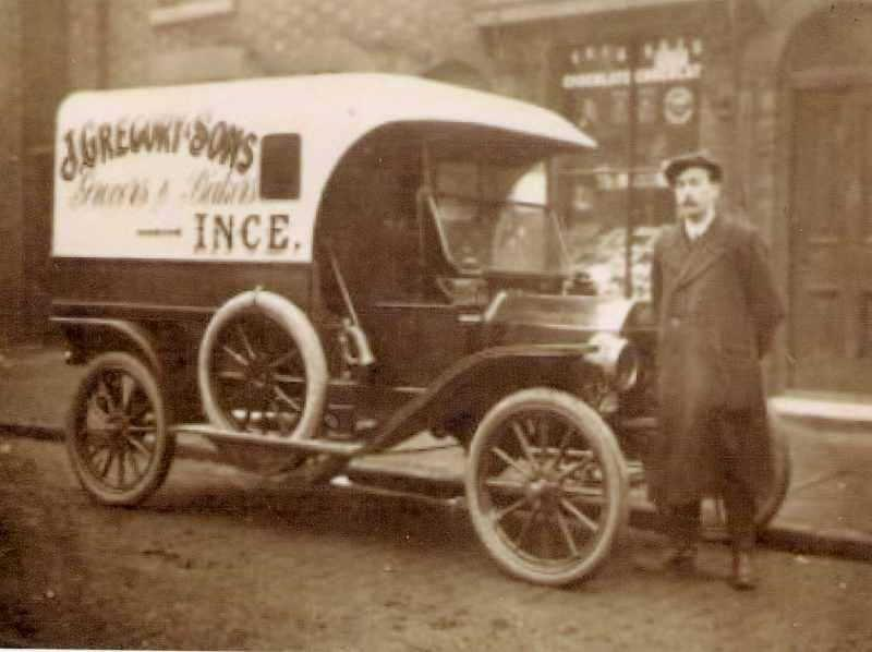 Gregory & Son delivery van