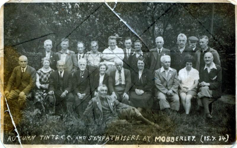 Autum Tints , older members of the Wigan Wheelers 1934