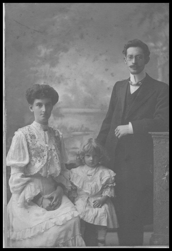 Wilfred Chamberlain and Family