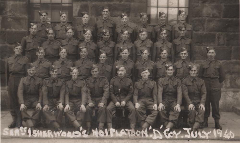 George Myers 1940 Loyal North Lancashire Regiment