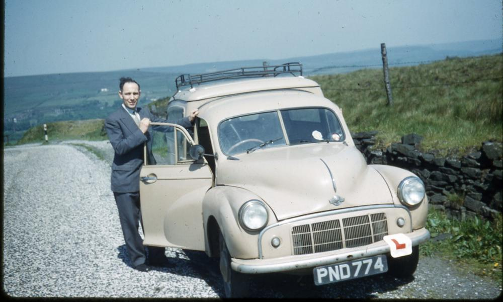Bob Bennett with his van