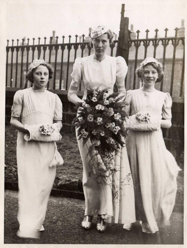 Lilian Laithwaite's wedding day