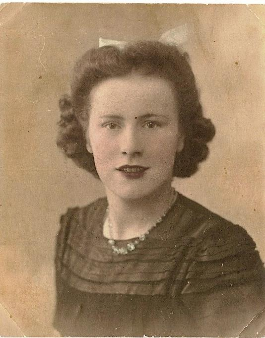 Doreen Critchley circa early 1940s