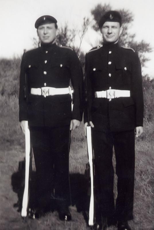 Local men  from the Loyals Regiment.c.1960's