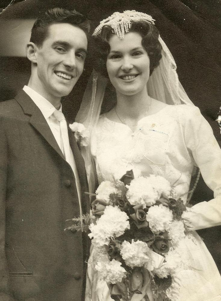 Dave and Mary's Wedding 1959