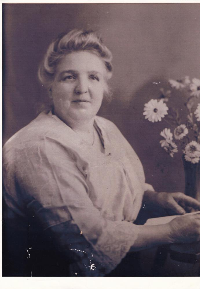 Mrs Mary Short, nee Green.