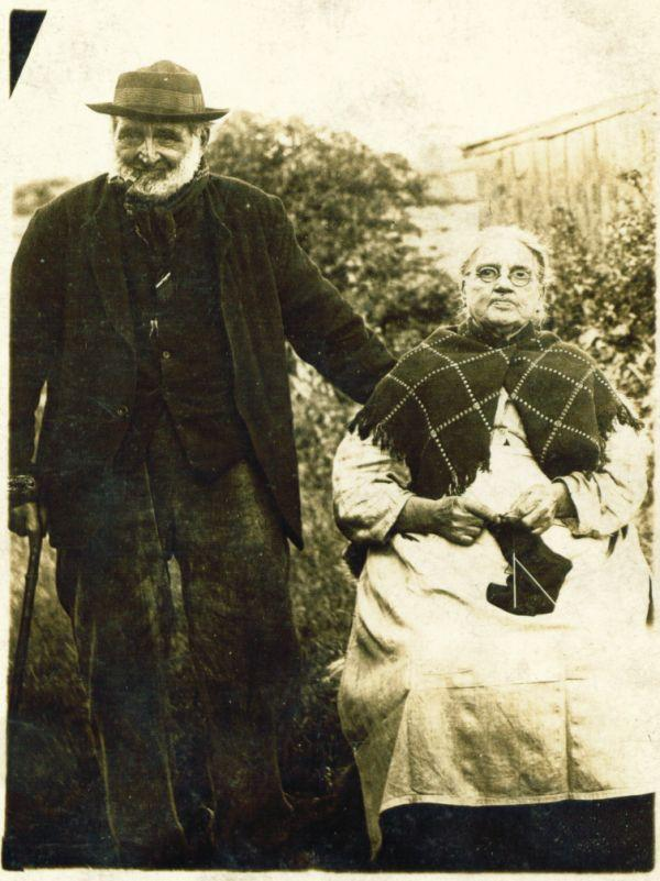 Richard Roughley Senior with his 3rd wife Ellen.