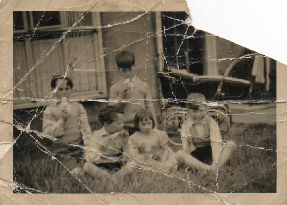 Togher children about 1960.
