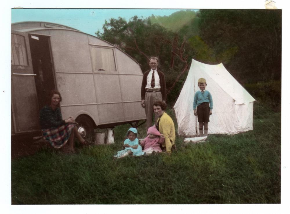 Old Camping Days