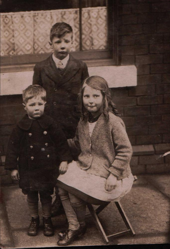 John, Margaret and Jimmy Robinson