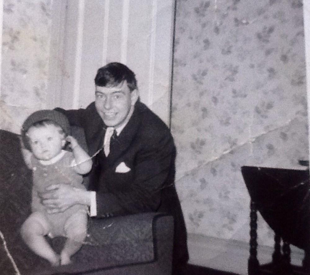 Me and daughter Louize 1968