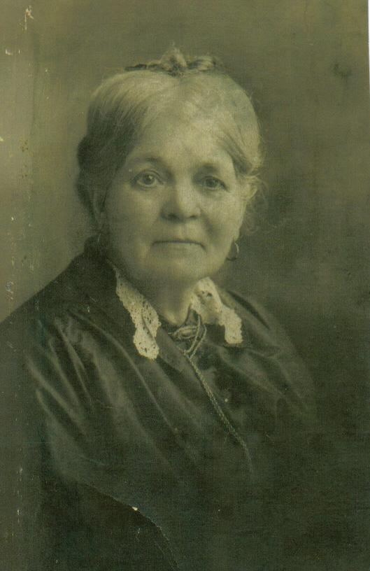 Mary Reynolds Nelson, c1900.