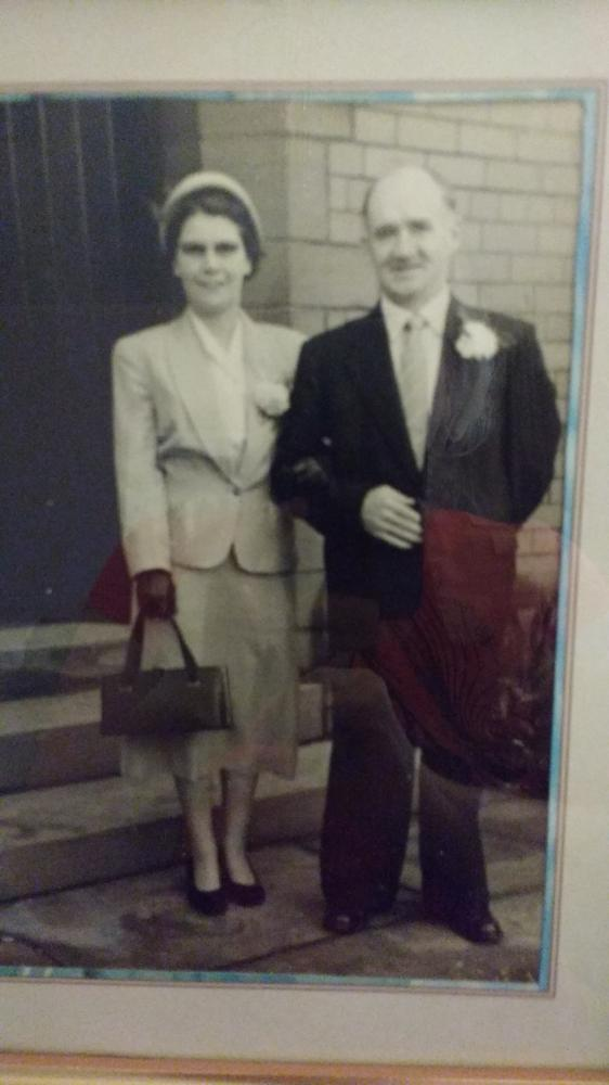 Mam and dad.