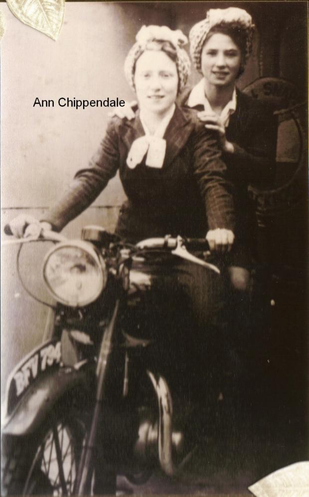 Ann Chippendale & Agnes Jolly