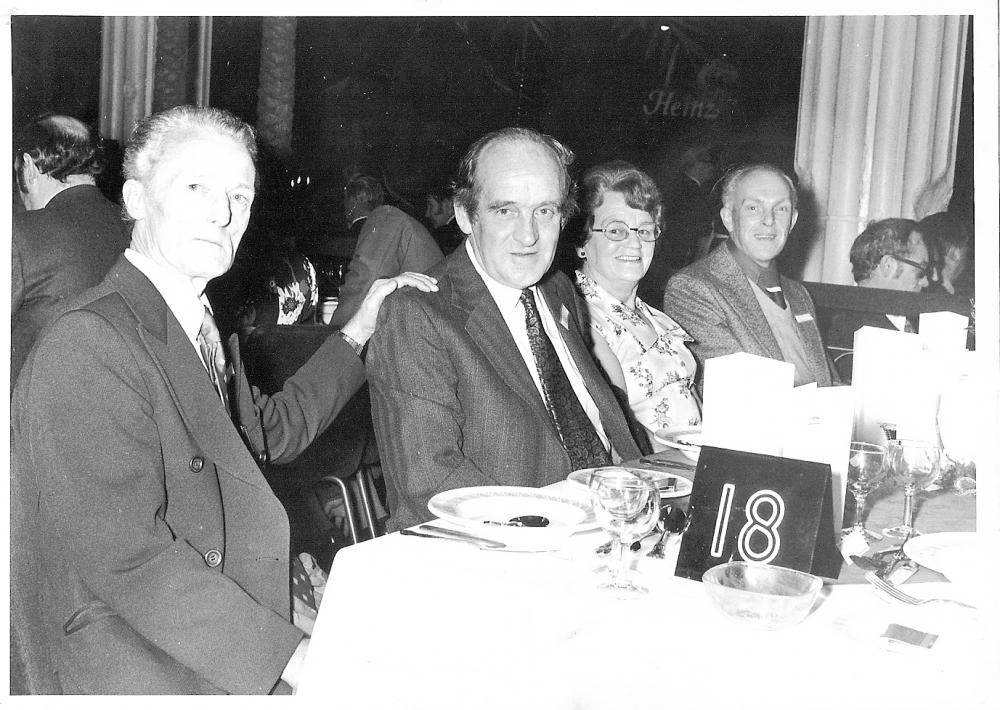 Sid Stokes at Heinz Party early 1980s
